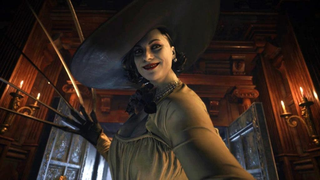 altura de Lady Dimitrescu de Resident Evil 8