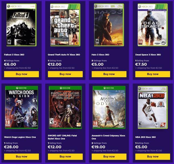 Las mejores ofertas de Xbox de segunda mano en Eneba 2