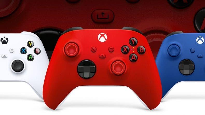 mandos de Xbox Desing Lab de Xbox Series X|S