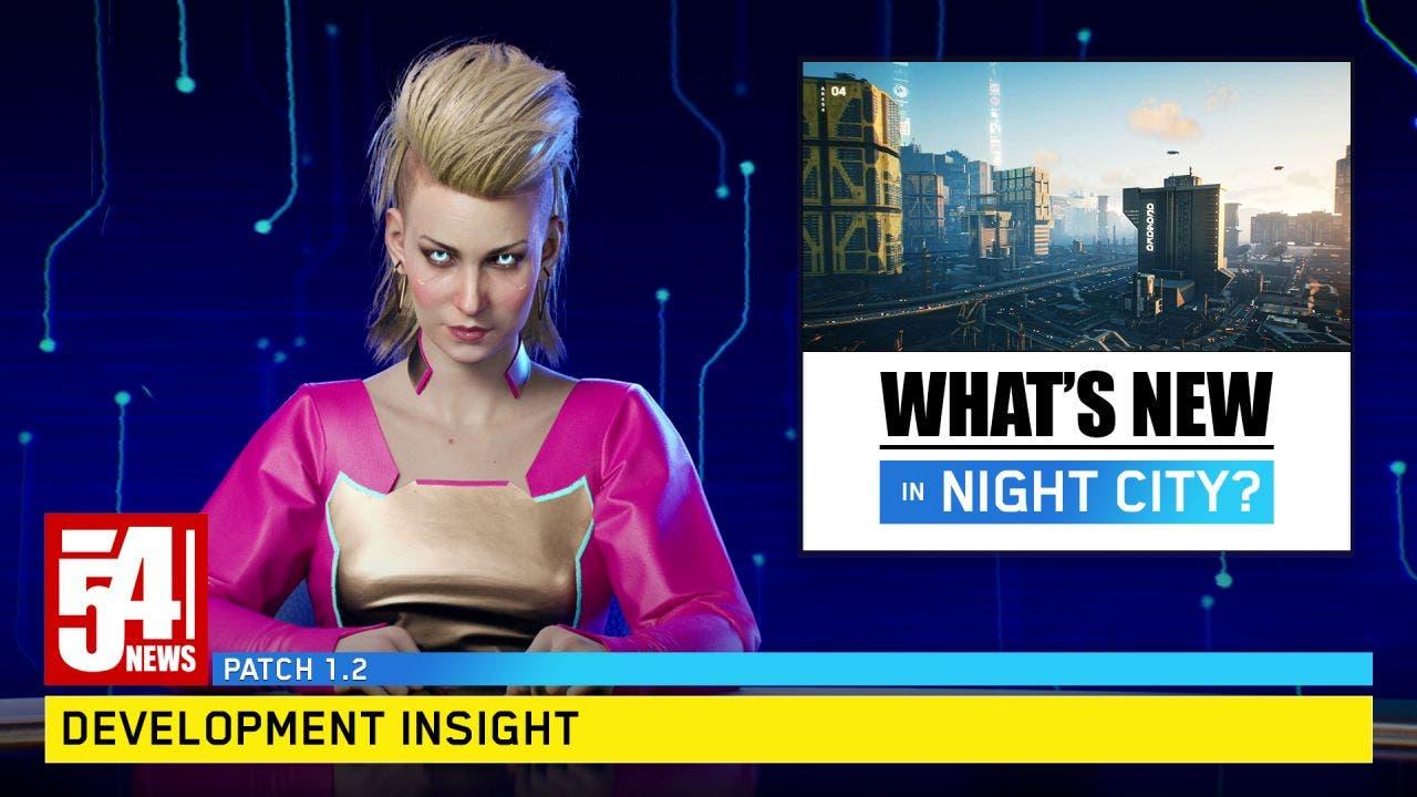 novedades que llegan a Cyberpunk 2077