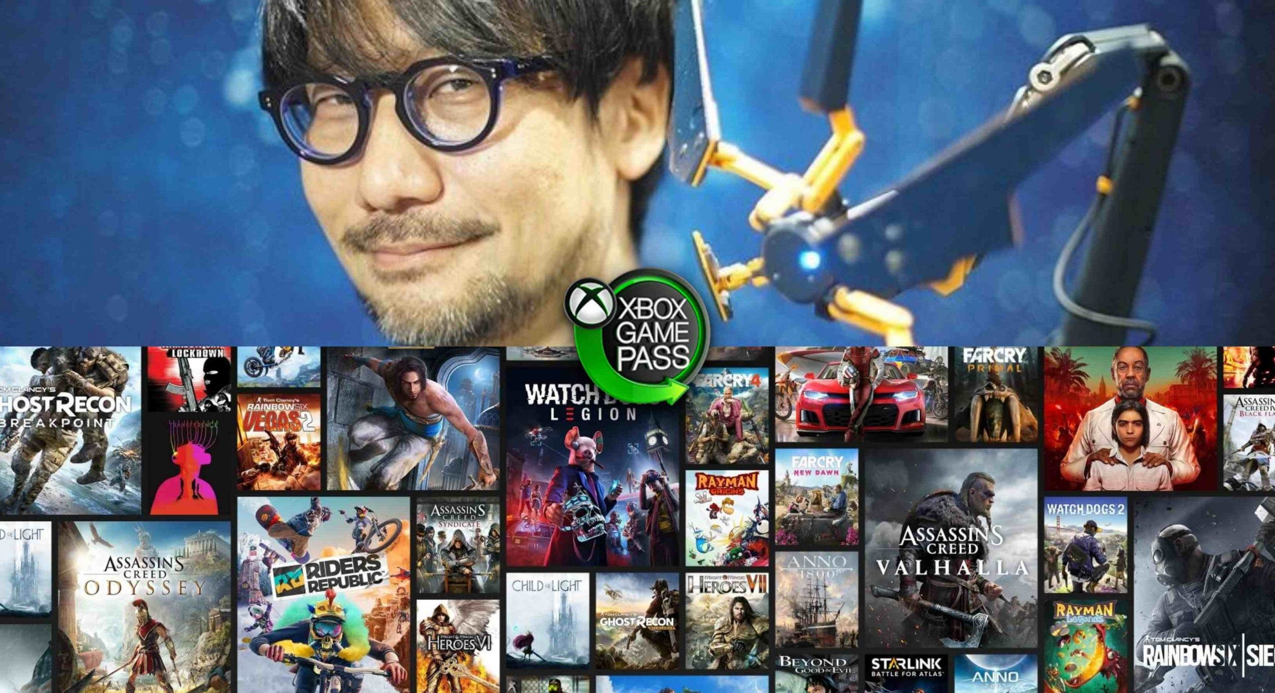 Ubisoft como Kojima podrían estar colaborando con Xbox Game Pass