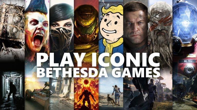 catálogo de Bethesda disponible en Xbox Game Pass
