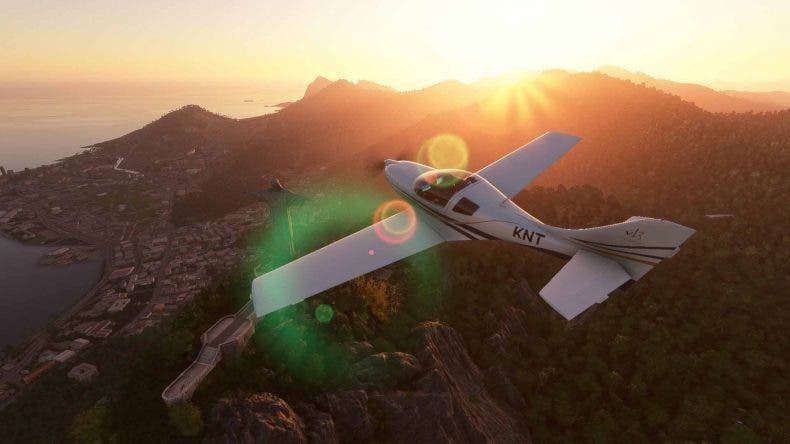 Microsoft Flight Simulator saca buen provecho de la potencia de las RTX30 1
