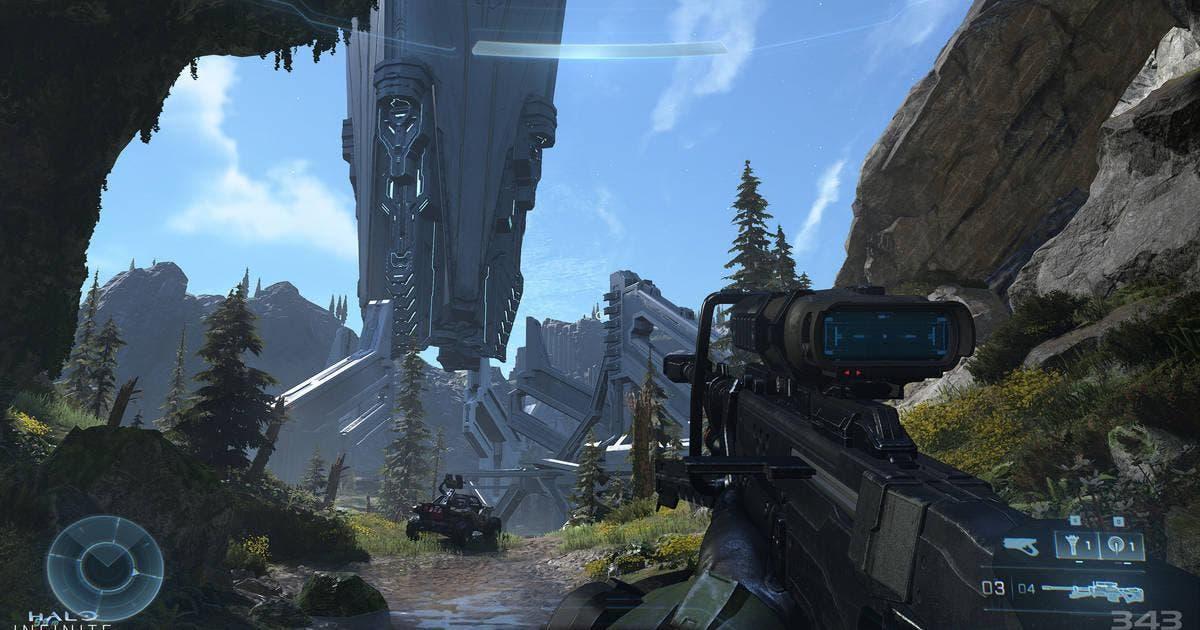Halo Infinite tendrá una historia lineal y encuentros basados en vehículos equipados 1
