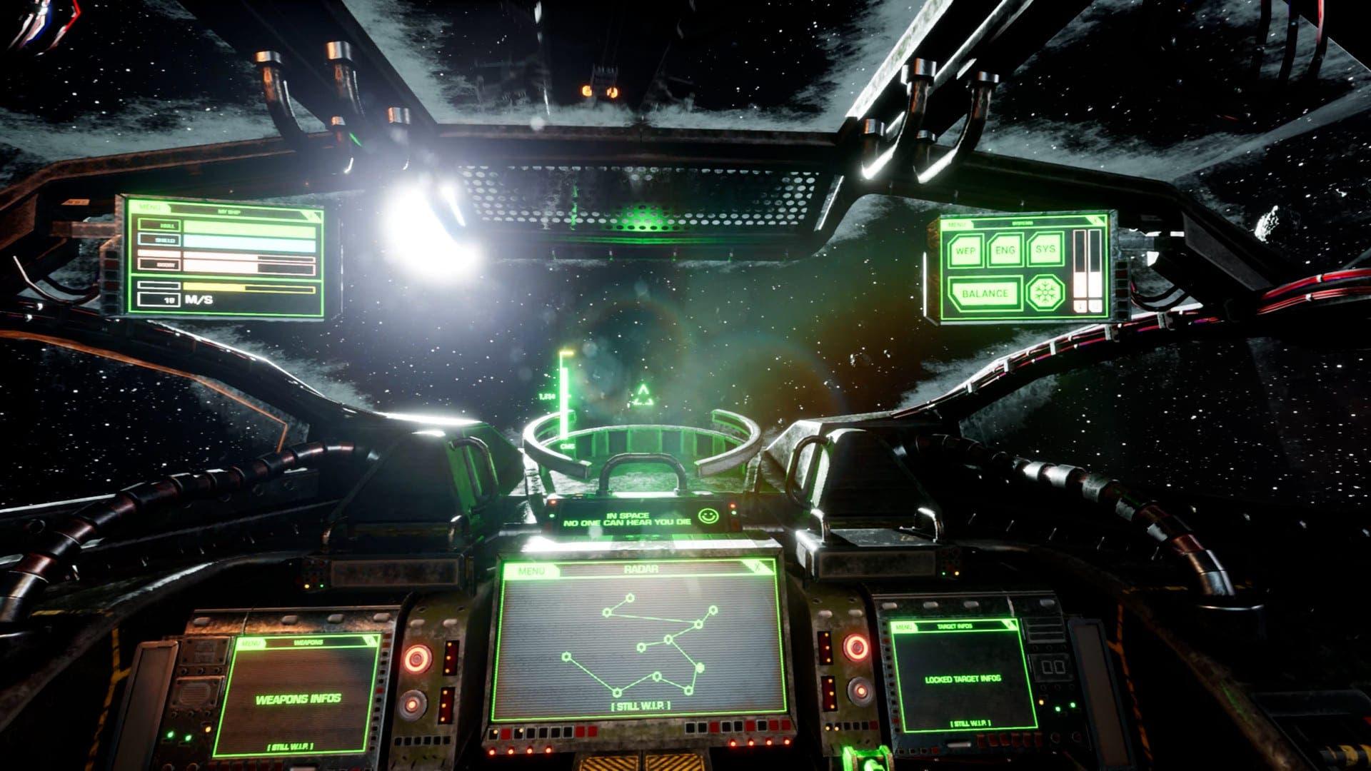 La mezcla de terror y combates espaciales de Haunted Space llegará a Xbox Series X|S 2