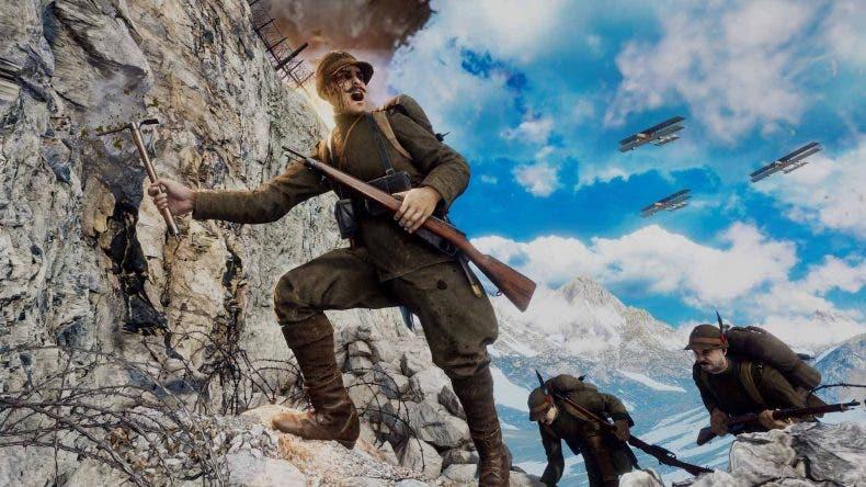Los creadores de Verdun y Tannenberg presentan su nuevo shooter Isonzo 1