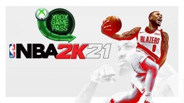Ya disponible nba 2k21 y otro juego en Xbox game pass