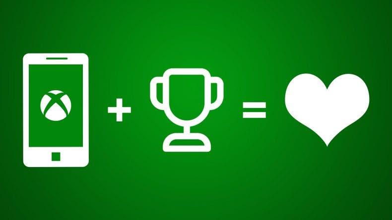 Así se verán los logros en la aplicación móvil Xbox 1