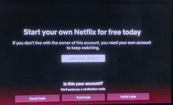 Netflix podría acabar con la opción de compartir cuenta 2