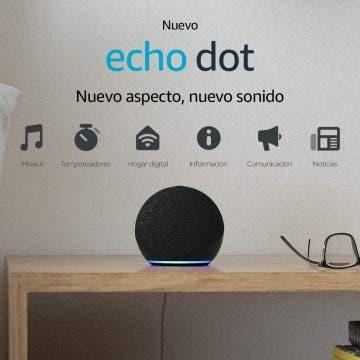 oferta de los Amazon Echo Dot 4