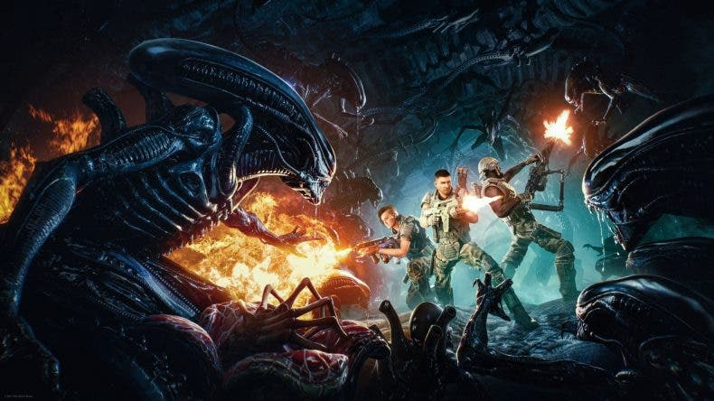 primer gameplay de Aliens: Fireteam