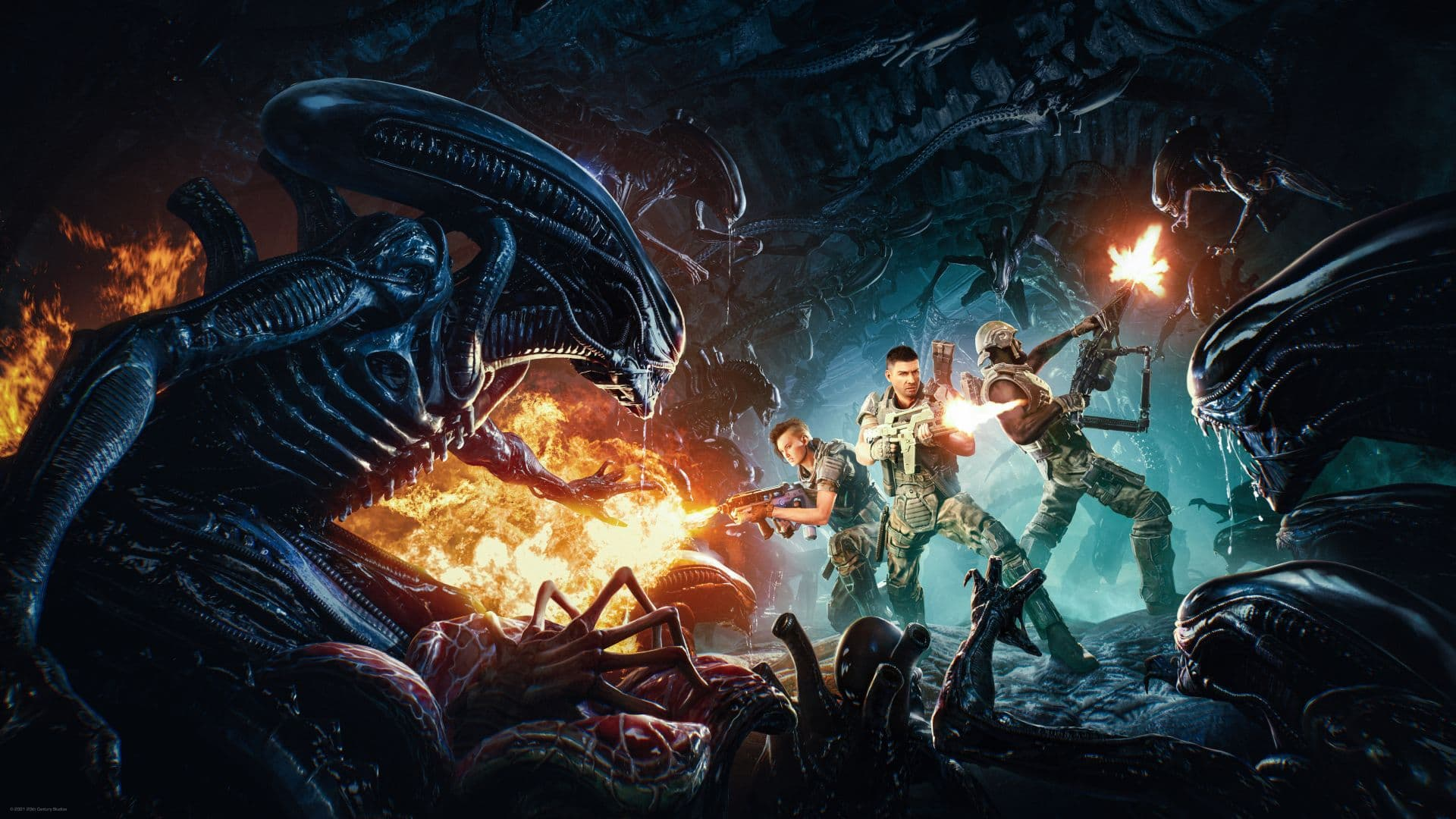 primer gameplay de Aliens: Fireteam