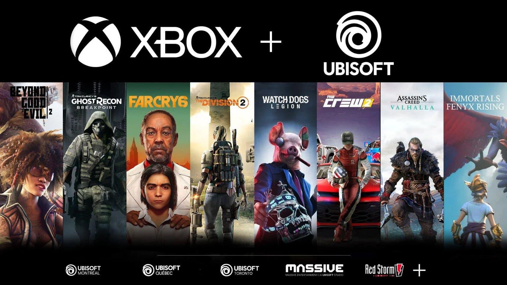 juegos de Ubisoft podrían llegar a Xbox Game Pass