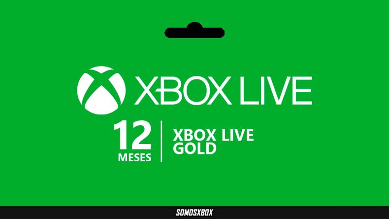 Gran oferta de 12 Meses de Xbox Live Gold 1