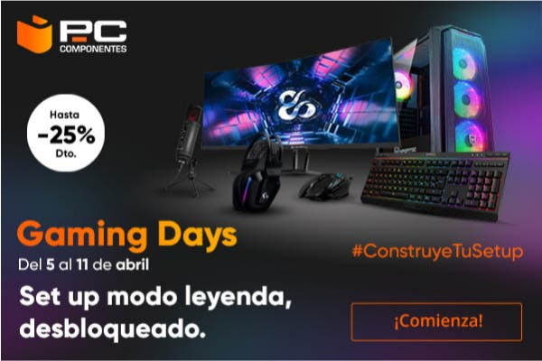Aprovecha los Gaming Days de PcComponentes 1