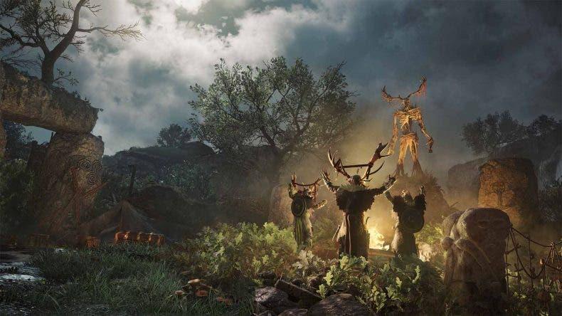 Los hombres lobo llegarán a Assassin's Creed Valhalla en la expansión Wrath of the Druids 1