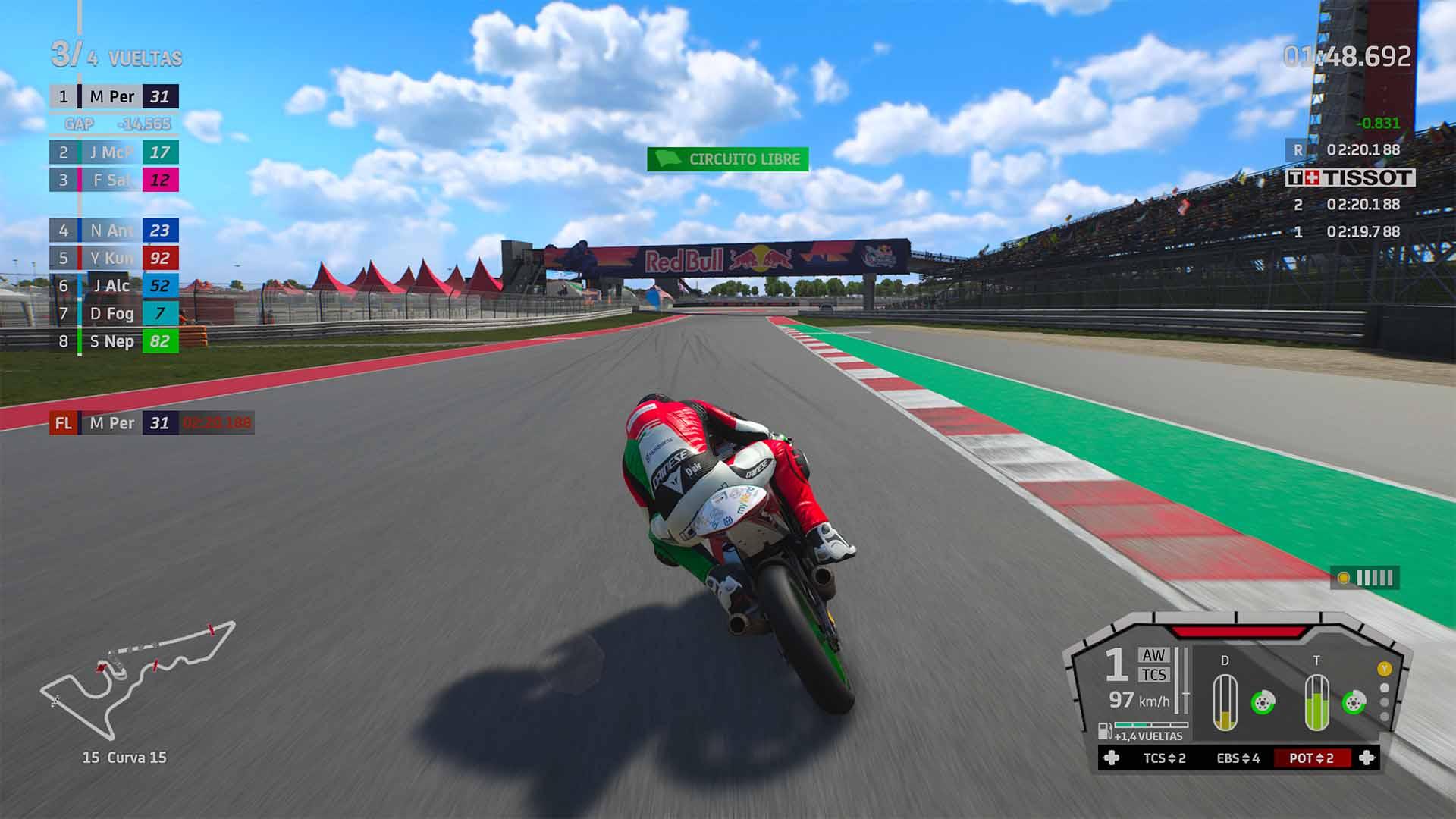 Análisis de MotoGP 21 - Xbox Series X 4