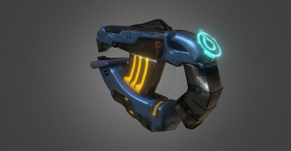 Un fan recrea la pistola de plasma de Halo 2