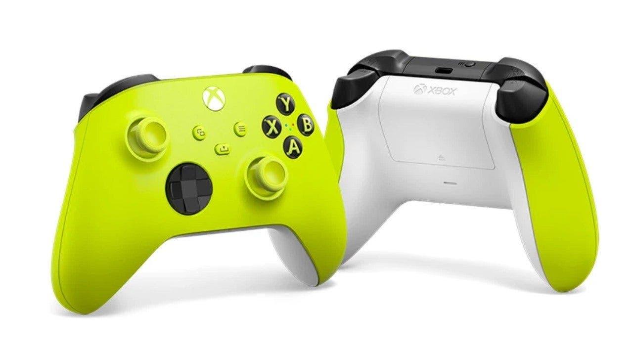 Consigue el mando inalámbrico Xbox Electric Volt a un buen precio 12