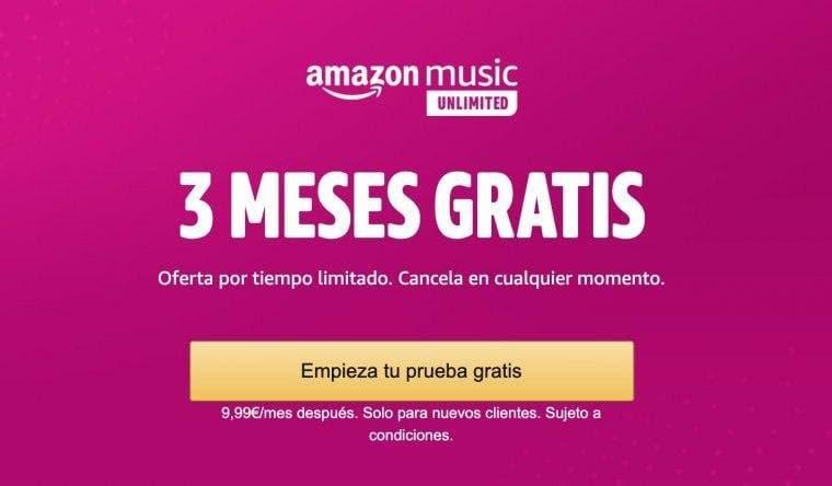 Disfruta de 3 meses gratis de Amazon Music Unlimited en tu Xbox