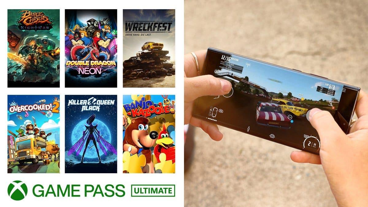 nuevos juegos reciben controles táctiles en xCloud