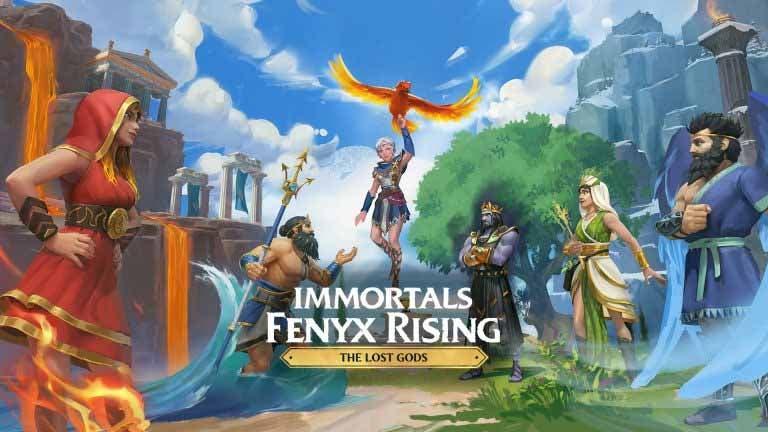Ubisoft confirma la fecha de llegada de The Lost Gods para Immortals Fenyx Rising 1