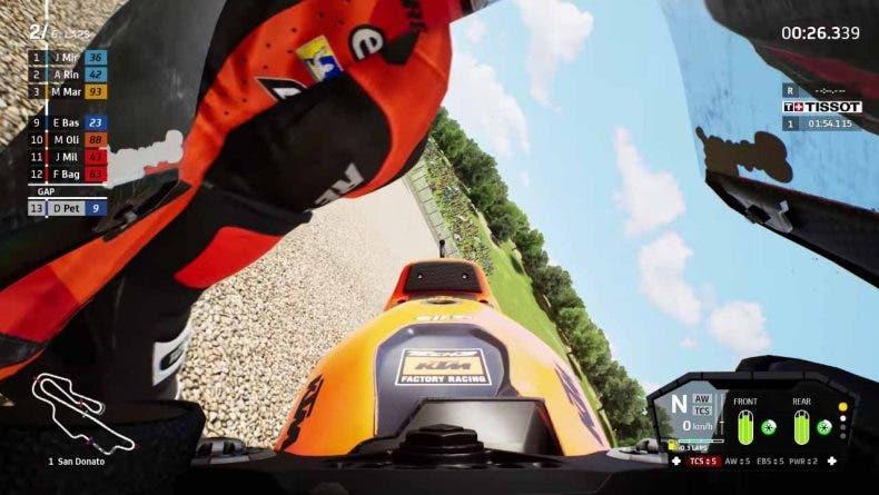 Recoger la moto tras una caída es protagonista del nuevo tráiler de MotoGP 21 1