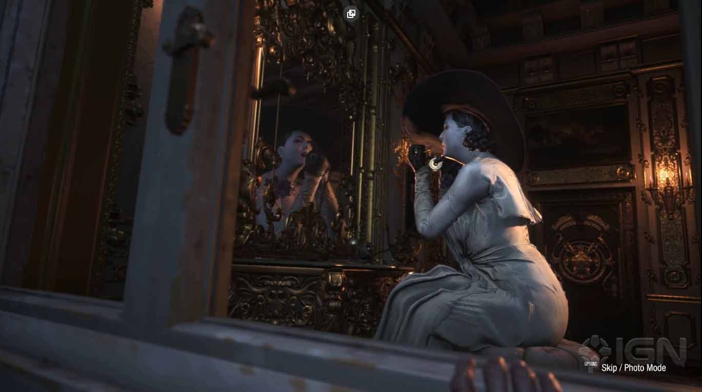 It would be confirmed that Resident Evil Village will include the defendant photography mode 1