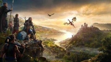 Dragones en Assassin's Creed Valhalla