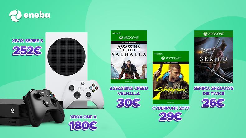 Así está el mercado de juegos y consolas Xbox de segunda mano 2
