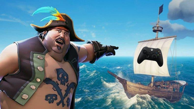 mando de Xbox Series de Sea of Thieves
