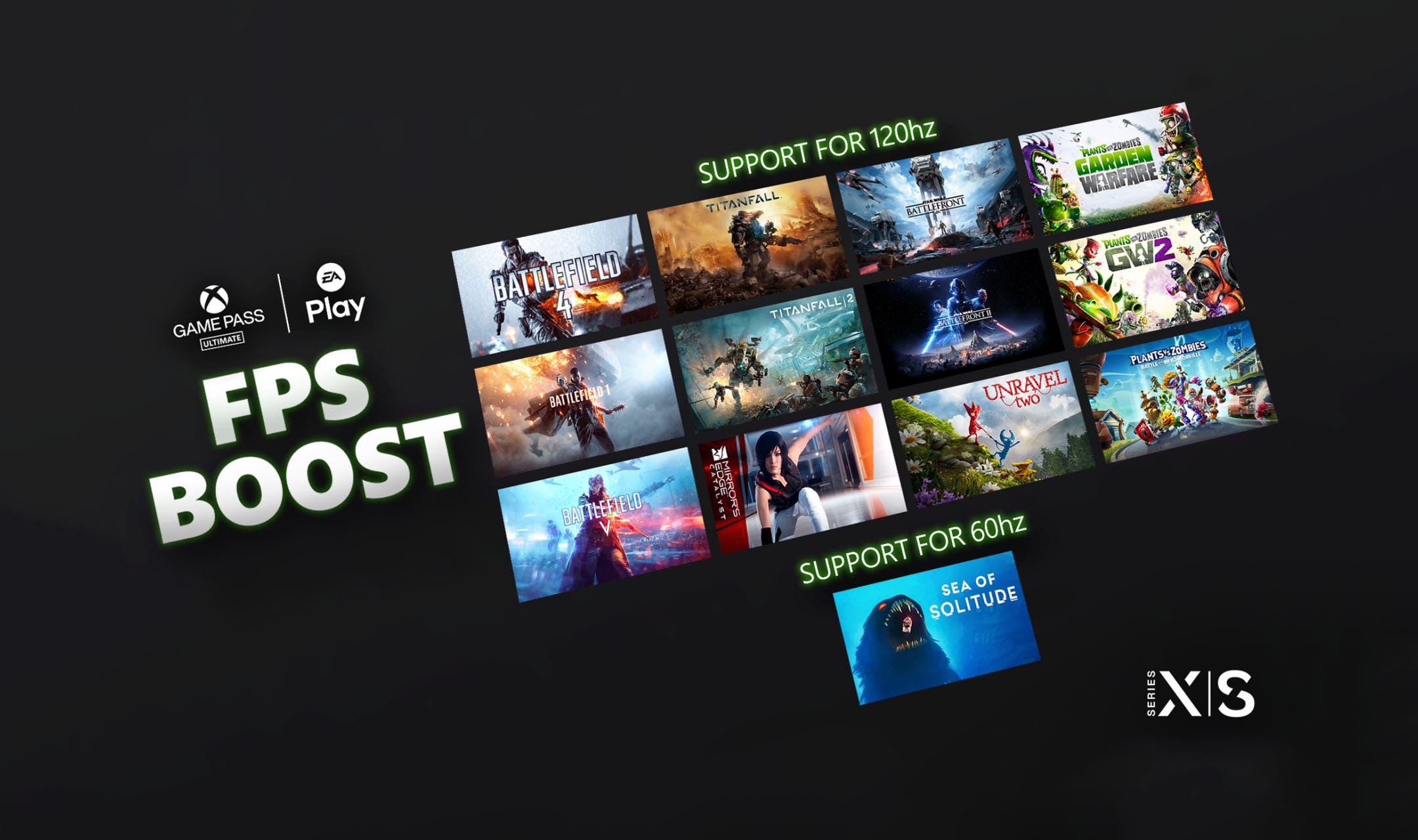 nuevos juegos con soporte para FPS Boost