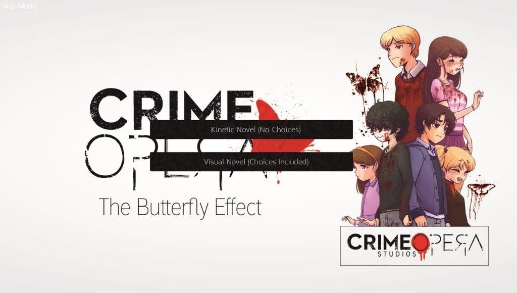 Análisis de Crime Opera: The Butterfly Effect - Xbox Series X