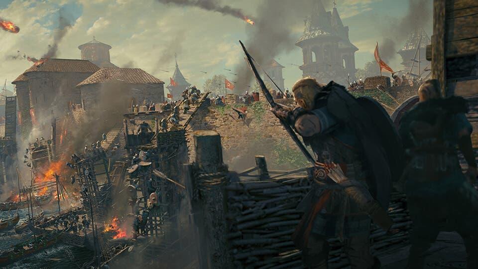 detalles de Assassin's Creed Valhalla El Asedio de Paris