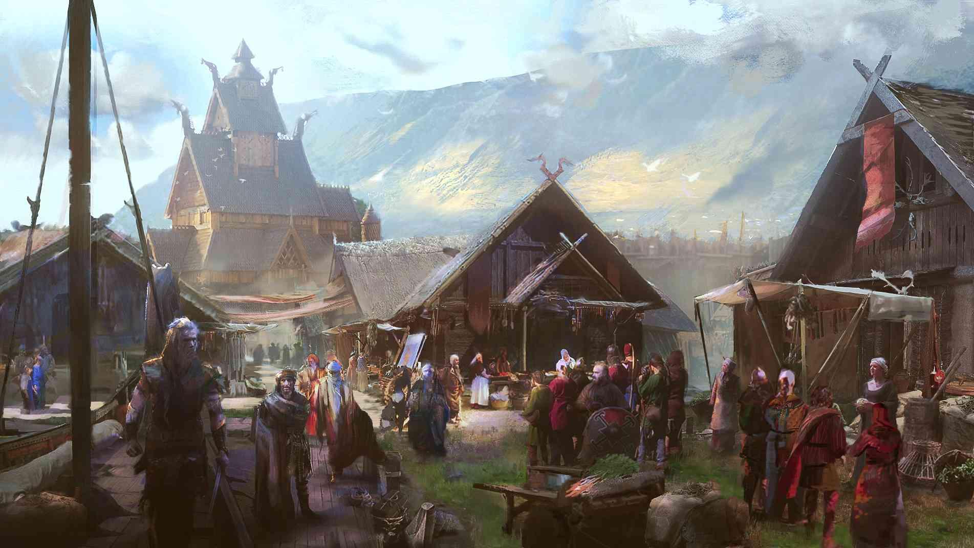 regiones del mapa de Assassin's Creed Valhalla La Ira de los Druidas