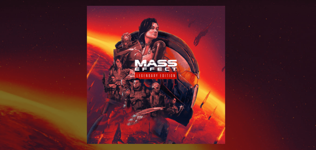 Portada personalizada de Mass Effect Legendary Edition en Xbox