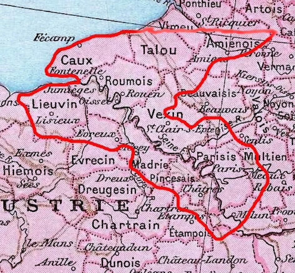 mapas de Assassin's Creed Valhalla La Ira de los Druidas y El Asedio de París