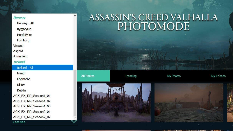 Assassin's Creed Valhalla Wrath of the Druids mapear regiões