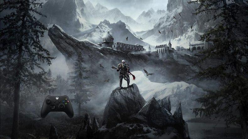 mando de Skyrim de Xbox Series X|S