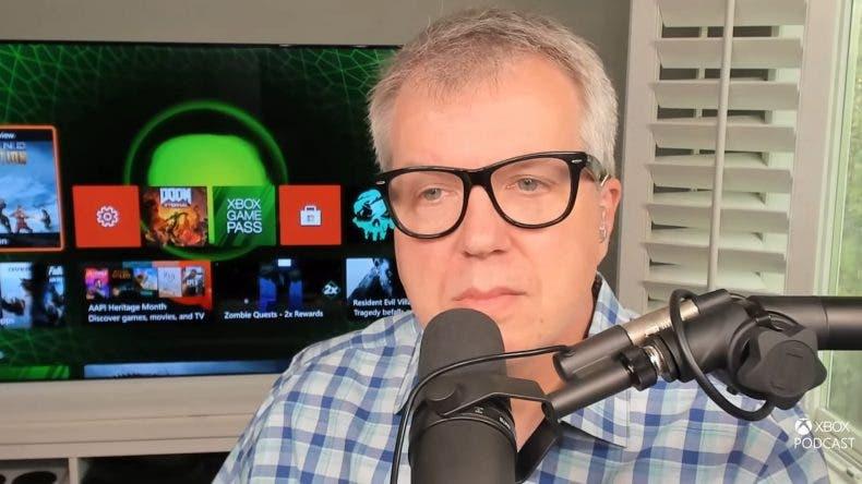 Un fondo dinámico de la Xbox original se ve en la consola de Major Nelson 1