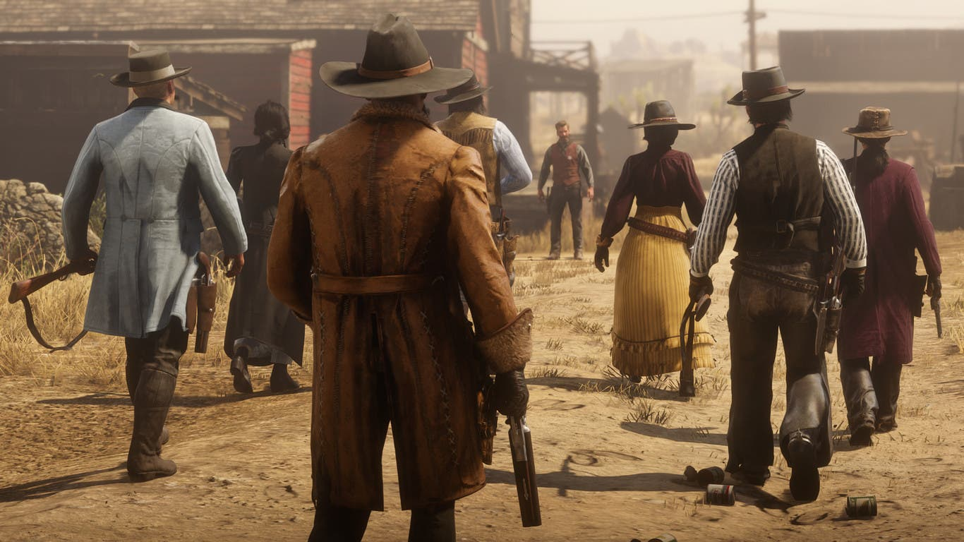 Un jugador de Red Dead Online aparece en una región inédita de México 2