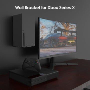 ¿No sabes donde colocar tu Xbox Series X? Prueba con este soporte 1