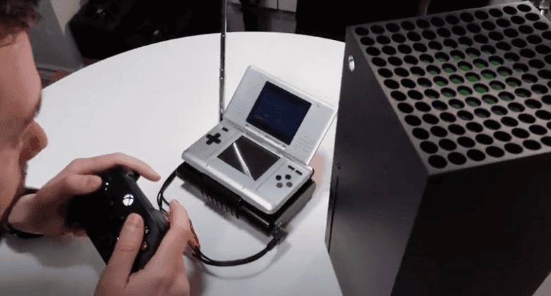 Logran utilizar la Xbox Series X en una Nintendo DS 1