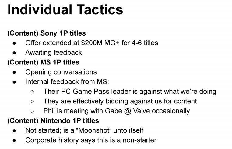exclusivas de PlayStation y Xbox