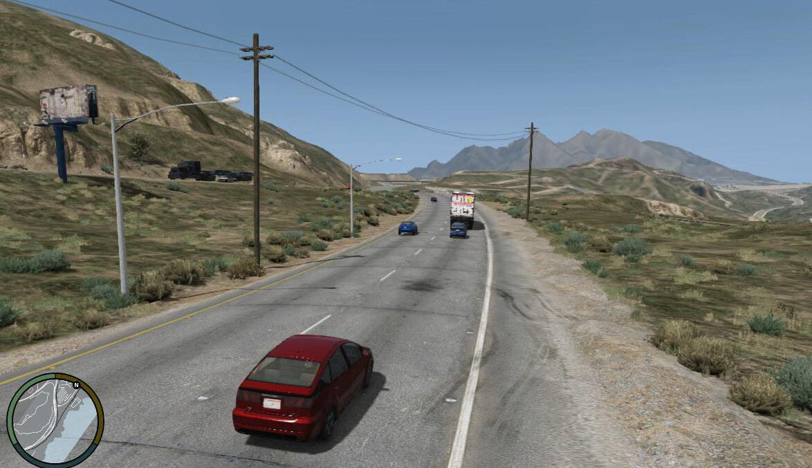 imágenes de cuando GTA 5 estaba en desarrollo