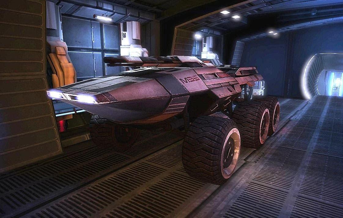 Mass Effect: Legendary Edition permitirá jugar con los controles clásicos del Mako 8