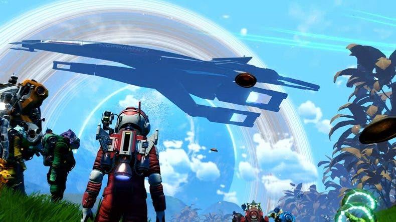 No Man's Sky agrega la nave estelar Normandy de Mass Effect por tiempo limitado 1