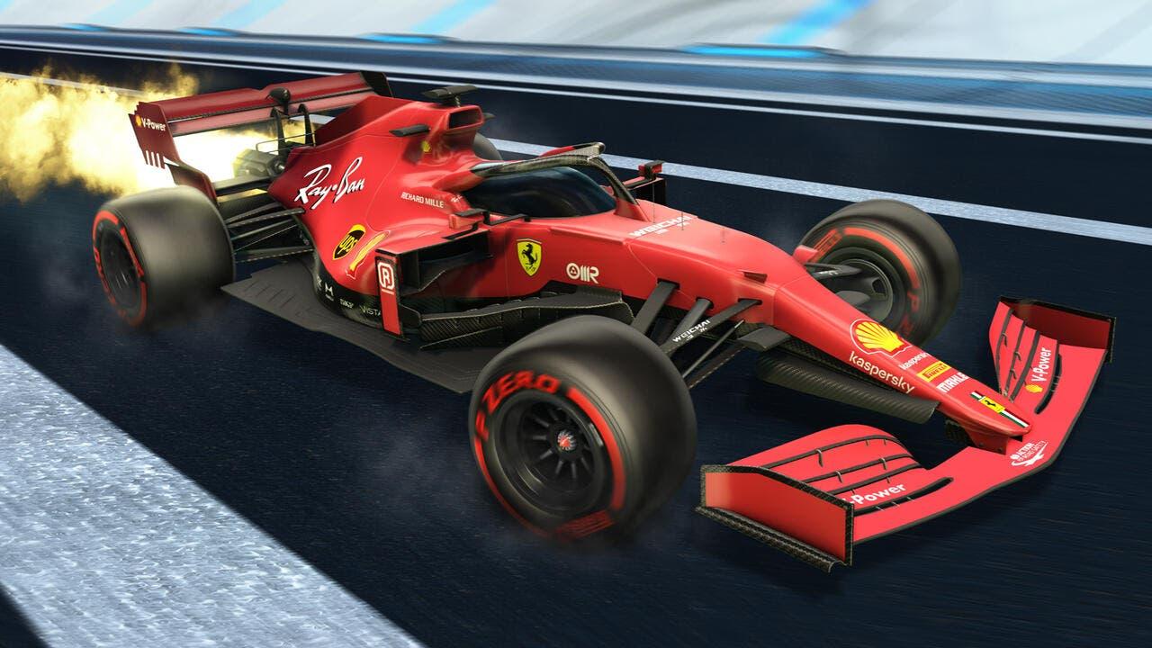 F1 llega a Rocket League