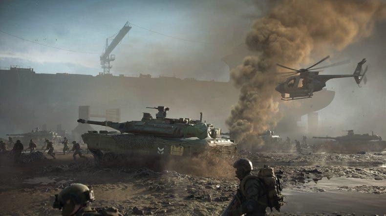 de la prueba técnica de Battlefield 2042