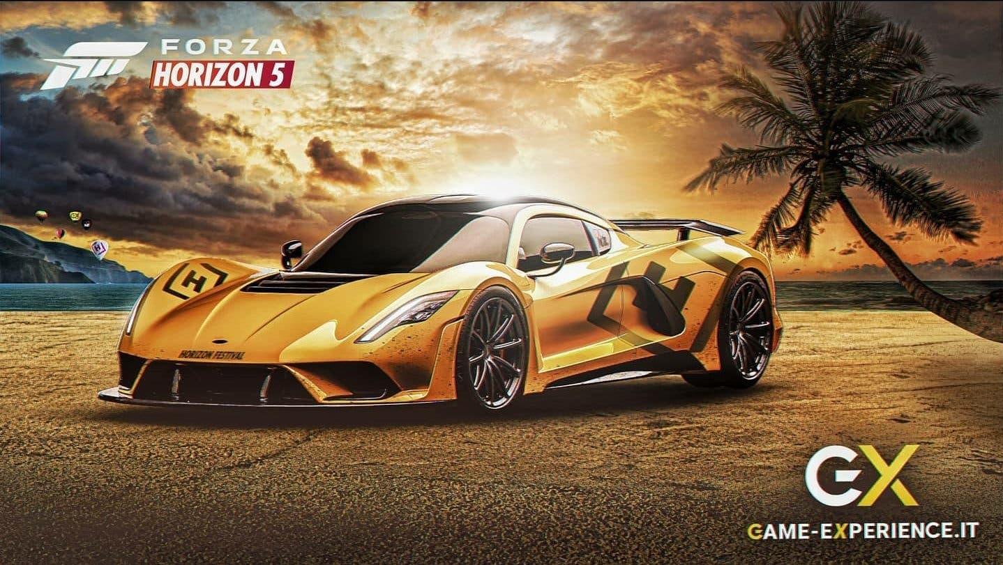 artes conceptuales de Forza Horizon 5 en México